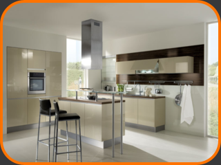 Haecker hacker kitchens including its classic range of for Hacker kitchen designs